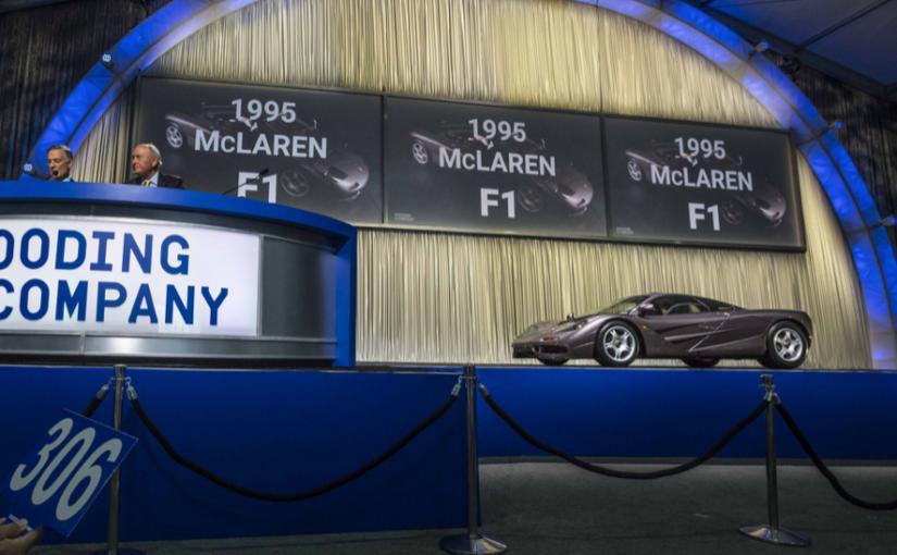Monterey Car Week Auctions